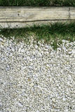 Green grass and stones Stock Photography