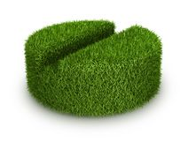 Green grass  tab Royalty Free Stock Photography