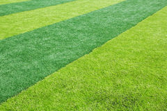 Green grass texture in soccer Field Royalty Free Stock Photography