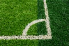 Green grass texture in soccer Field Stock Photos