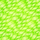 Green grass waves vector seamless pattern Royalty Free Stock Photography