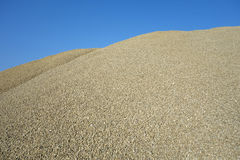 Green gravel Royalty Free Stock Images