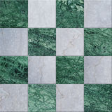 Green and gray marble parquet texture background. Structured surface Stock Image