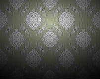 Green-gray pattern. Green-gray seamless pattern,  illustration Royalty Free Stock Photo