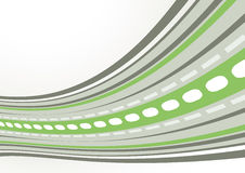 Green and gray techno abstraction Stock Photography