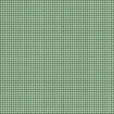 Green and Gray Woven Basketweave Background. Repeated braiding of horizontal and vertical stripes creates a basket weave woven pattern in gray on green Stock Illustration