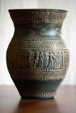 Green Greek Vase Stock Photography
