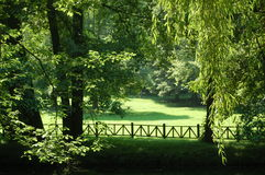 Green,Green... A park outside Sarajevo,beautiful river and greenary Stock Photos