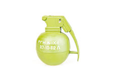 Green grenade Stock Photography