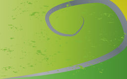Green grey curve Stock Photo