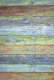 Green grey painted wood plank can be used as background. Rustic, shabby chick wooden background. Aged wood planks pattern. Woode. N surface Stock Photo