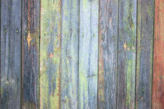 Green grey painted wood plank can be used as background. Rustic, shabby chick wooden background. Aged wood planks pattern. Woode. N surface Royalty Free Stock Images