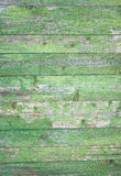 Green grey painted wood plank can be used as background. Rustic, shabby chick wooden background. Aged wood planks pattern. Woode Royalty Free Stock Images