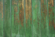 Green grey painted wood plank can be used as background. Rustic, shabby chick wooden background. Aged wood planks pattern. Woode Stock Photo