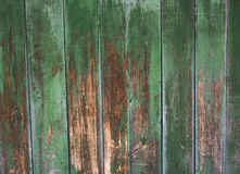 Green grey painted wood plank can be used as background. Rustic, shabby chick wooden background. Aged wood planks pattern. Woode Royalty Free Stock Photography