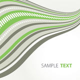 Green and grey stripes Royalty Free Stock Photos