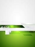 Green grey tech contrast vector background Stock Photo