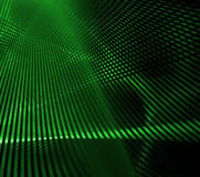Green Grid. Abstract green lines backgroundresembling grid work Royalty Free Stock Images