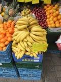 Green grocer`s in Hamburg Stock Image