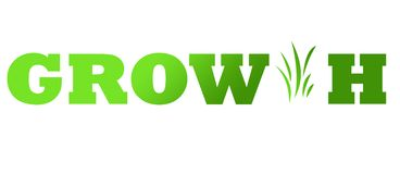 Green growth background Stock Photography