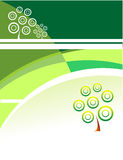 Green Growth background Royalty Free Stock Photos