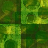 Green grunge Stock Images