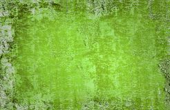 Green Grunge Royalty Free Stock Photography