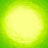 Green grunge circle abstract vector background Royalty Free Stock Image