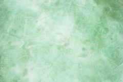 Green grunge concrate wall background Royalty Free Stock Images