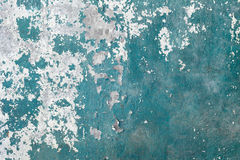Green grunge concrete weathered wall background Stock Images