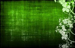 Green Grunge Design Texture Royalty Free Stock Photos