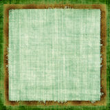 Green Grunge Fabric Royalty Free Stock Image