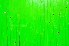 Green Grunge Fence. Green Grunge Wooden Fence Background Stock Photos