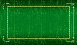 Green grunge frame. Can be used a background stock illustration