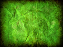Green grunge paper background Royalty Free Stock Photo