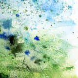Green grunge paper background Stock Photography