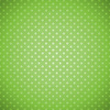 Green grunge polka dots background Royalty Free Stock Photography