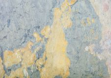 Green grunge stone texture background with cracks Stock Image