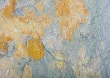 Green grunge stone texture background with cracks Royalty Free Stock Images