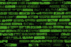 Green grunge wall background Royalty Free Stock Image