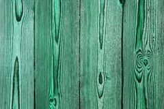 Green grunge wood structure background Stock Photography