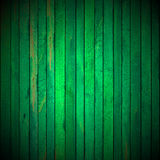 Green Grunge Wooden Background Stock Image