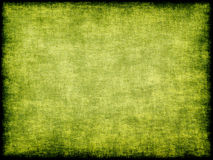 Green grungy canvas texture pattern taken closeup.Background. Stock Photos