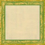 Green grungy frame Royalty Free Stock Photography
