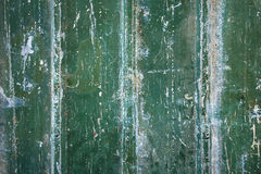 Green grungy metal background Royalty Free Stock Photos