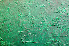 Green grungy texture.Decorative plaster Royalty Free Stock Photos