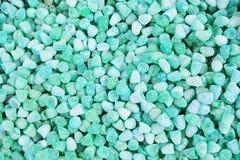 Green gummy candies background Stock Photo