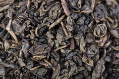 Green gunpowder tea Royalty Free Stock Photography