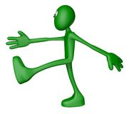 Green guy marshes Stock Photography