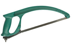 Green hacksaw Stock Images
